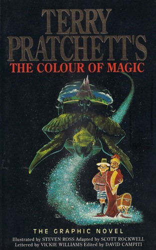 terry pratchett The Colour of magic Terry Pratchett, sfumature di Octarine e il colore della magia