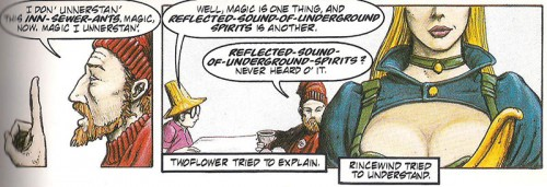 Terry Pratchett il colore della magia