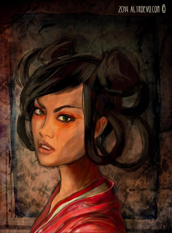 Altro Evo, La donna del mistero, Dujì