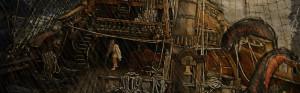 Incubo in alto mare - altro evo artwork fantasy