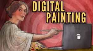 Illustrazioni digitali digital paintings