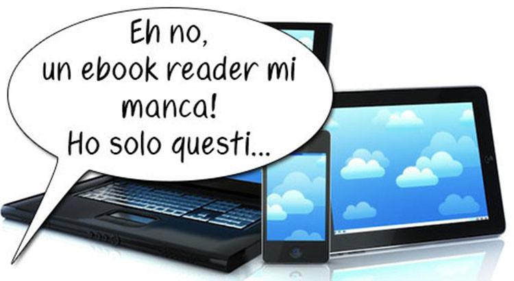 ebook reader leggere senza kindle