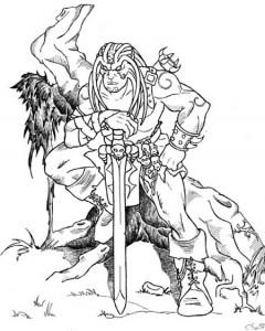 Mutazione genetica tra conan e Peloquin di Cabal... oibò erano primi anni del 2000