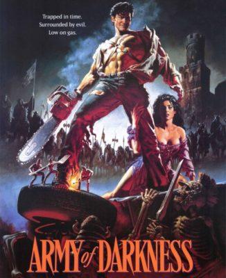 L'armata delle Tenebre, Army of Darkness - film di zombie che fanno ridere - film horror commedia zombie