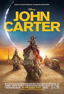 John Carter di marte, il film - Planetary Romance, Sword and Planet e altra fantascienza estiva, John Carter Edgar Burroughs