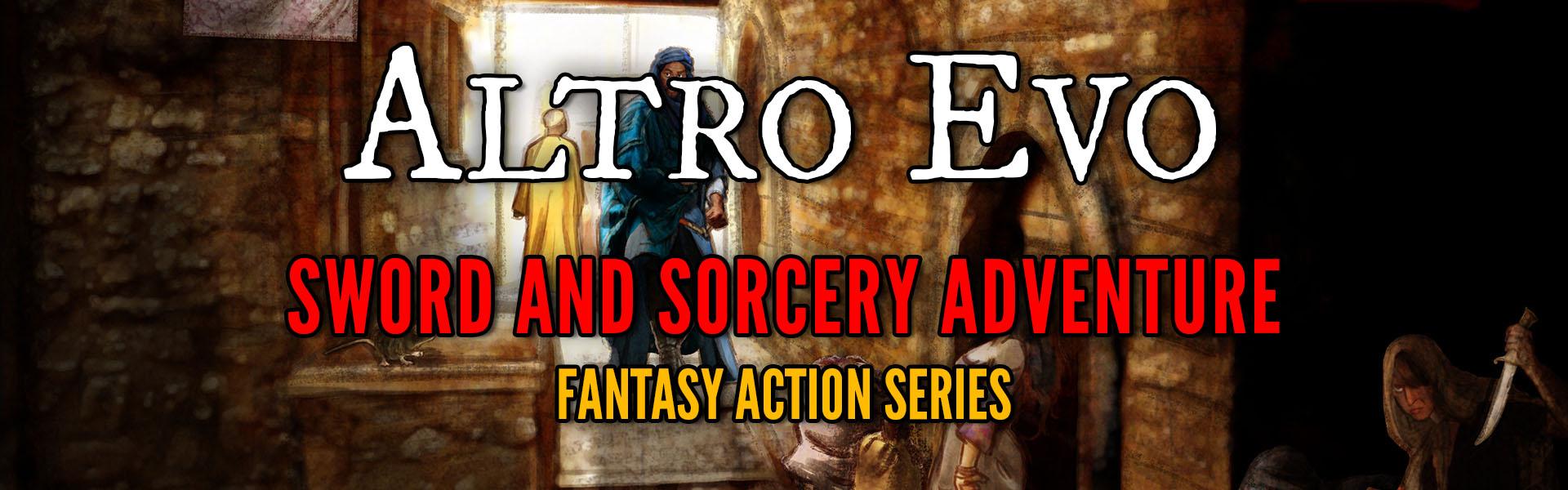 altro evo sword and sorcery fantasy series