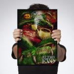 Gadget Poster A3, Altro Evo, la nuova edizione illustrata Fiere