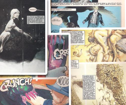 Clive Barker, Orrore a fumetti