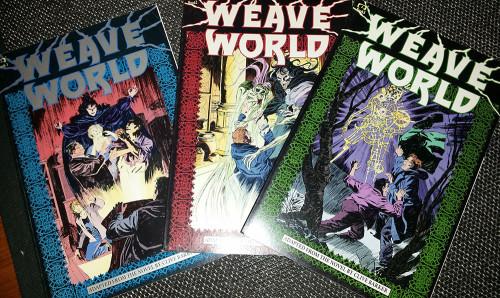 Weave World Clive Barker, Orrore a fumetti