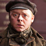 Simon Pegg in Burke