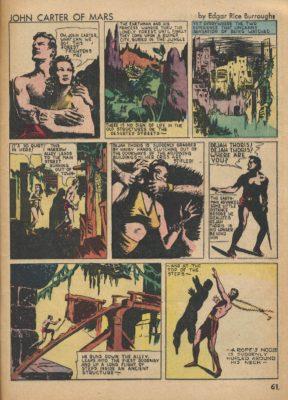 John carter di Marte fumetto - Planetary Romance, Sword and Planet e altra fantascienza estiva, John Carter Edgar Burroughs