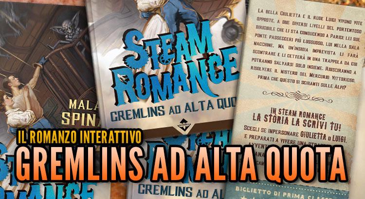 Altro Evo, Gremlins ad alta quota, romanzo interattivo steampunk