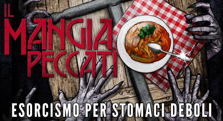 Il Mangia Peccati Esorcismo per stomaci deboli, commedia nera romanzo horror