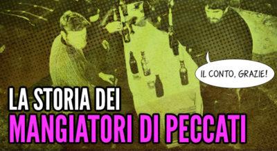 Il Mangia Peccati Esorcismo per stomaci deboli, commedia nera romanzo horror mangiatore di peccati