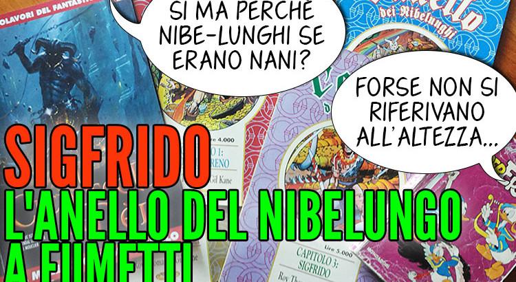 Sigfrido, l'Anello del Nibelungo a fumetti