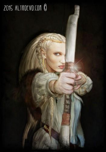 Sbatti l'elfa in copertina, quella giusta
