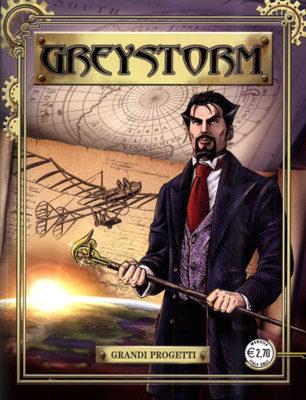 Greystorm Steampunk in libri, fumetti, film e audiolibri