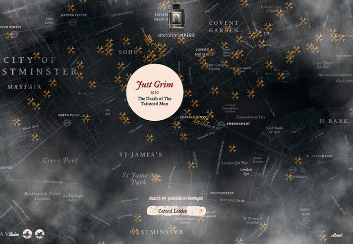 Grim London - Mappe della Londra Vittoriana, come orientarsi per le strade