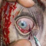 occhio di zombie