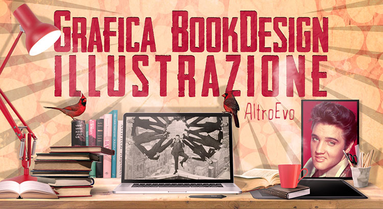 Grafica Book Design illustrazione