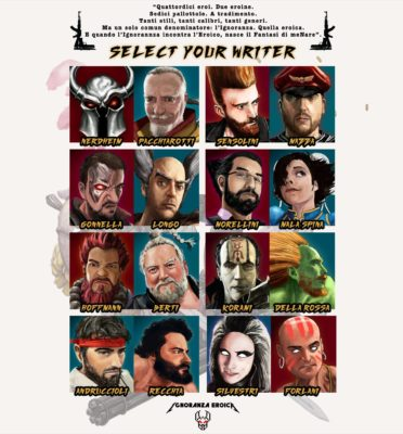 "SELECT YOUR WRITER, Ignoranza Eroica e la prossima antologia ""di fantasy menare""!"