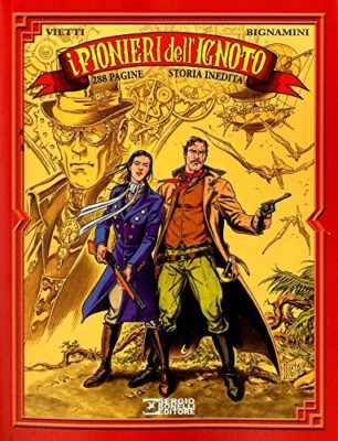 I Pionieri dell'Ignoto, Bonelli Steampunk in libri, fumetti, film e audiolibri in italiano, italia