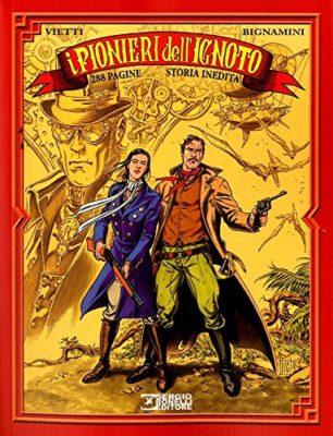 I Pionieri dell'Ignoto, Bonelli Steampunk in libri, fumetti, film e audiolibri in italiano, italia