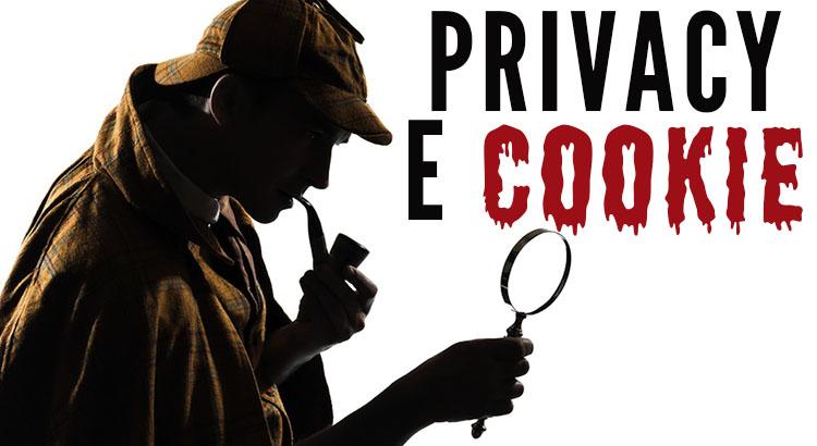 privacy e cookie
