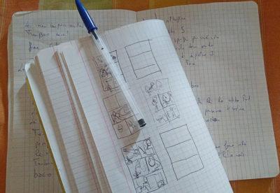 lo scrittore in vacanza, il quaderno degli appunti