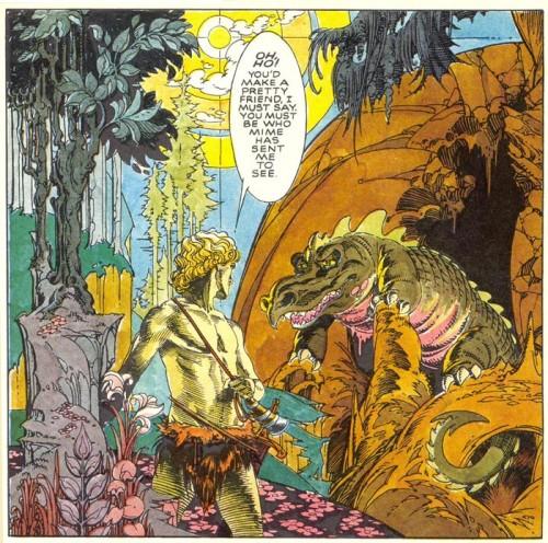 russell craig siegfried Sigfrido, l'Anello del Nibelungo di Wagner a fumetti