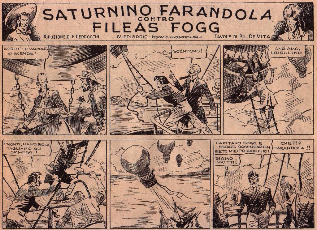 Saturnino Farandola - Albert Robida, quando lo steampunk era la fantascienza, Saturnino Farandola