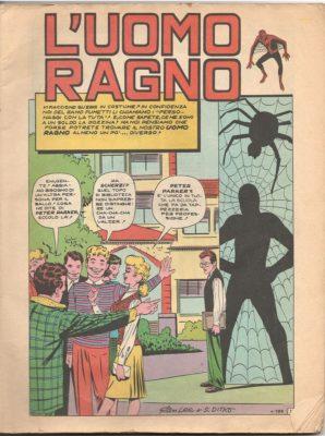 Uomo ragno gigante -Il fumetto più bello del mondo ce l'ho solo io