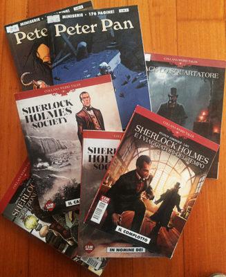 Peter Pan e Sherlock Holmes horror gotico vittoriano