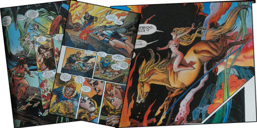 Sigfrido, l' Anello del Nibelungo di Wagner a fumetti