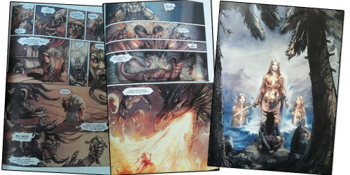 Sigfrido, l'Anello del Nibelungo di Wagner a fumetti
