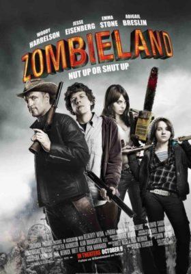 Benvenuti a Zombieland - film di zombie che fanno ridere - film horror commedia zombie